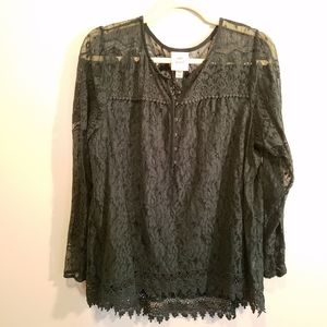 Womens Knox Rose blouse, XXL